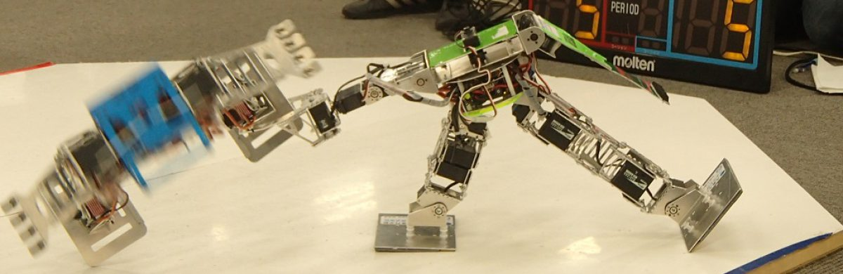 Kinki students Biped-robot League 3rd STAGE